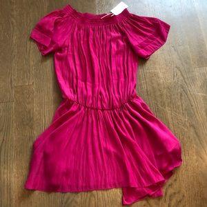 RAMY BROOK fuschia dress silk Sz m